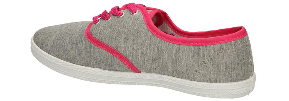 TENISÓWKI CASU 7SP-024-LS kolor różowy, szary