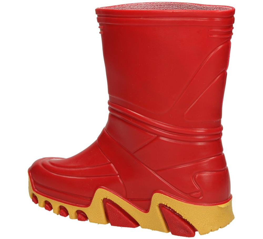 KALOSZE 0013 kolor czerwony, żółty