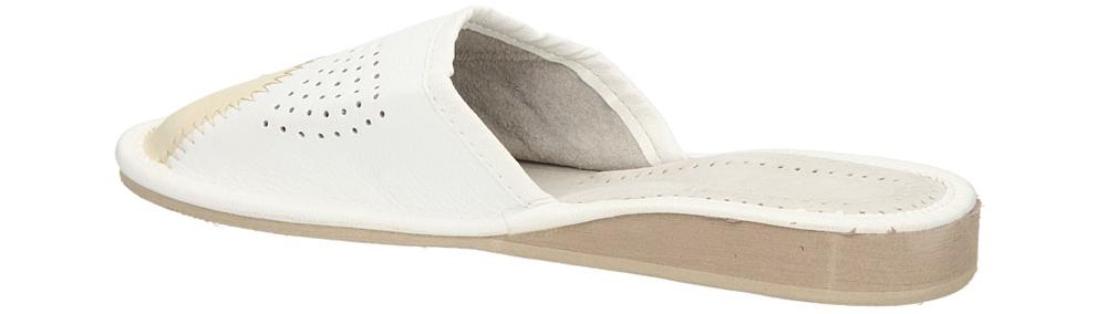 OBUWIE CASU DOMOWE D-24 kolor beżowy, biały