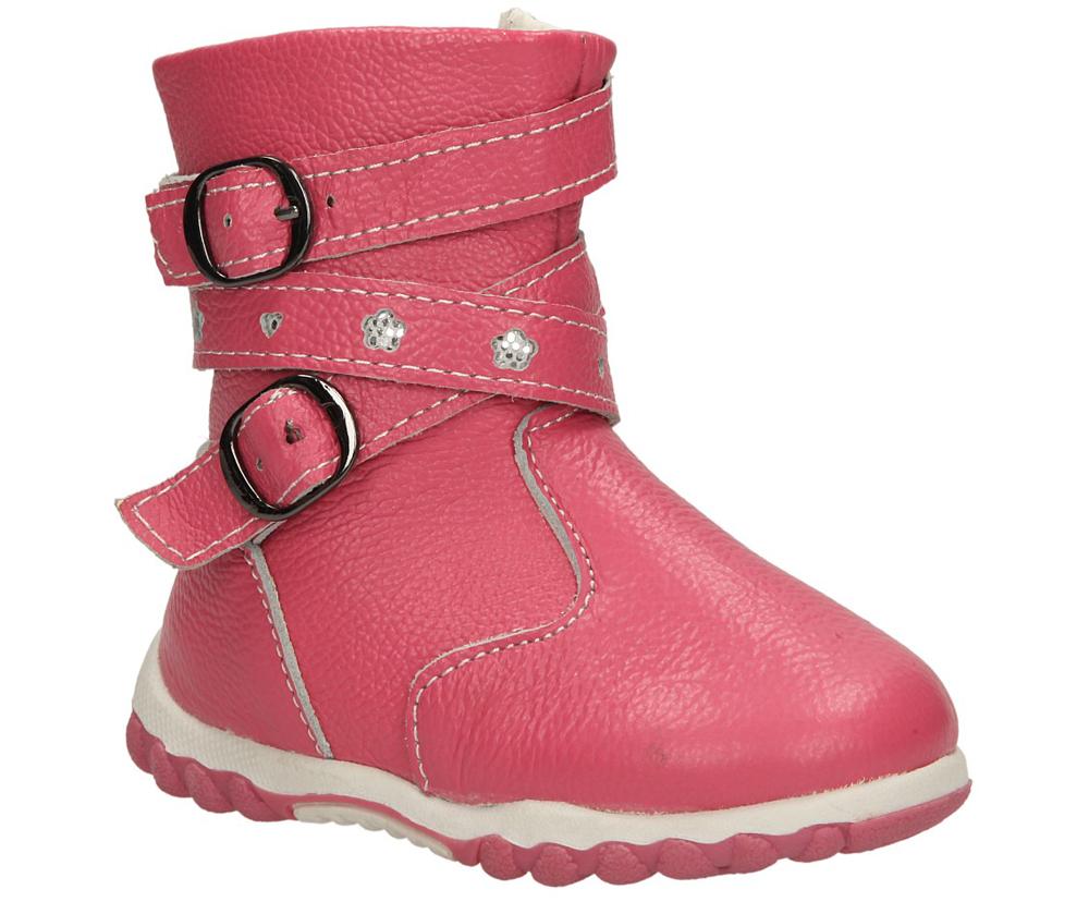 Dziecięce KOZAKI 1XC6202L-W różowy;;