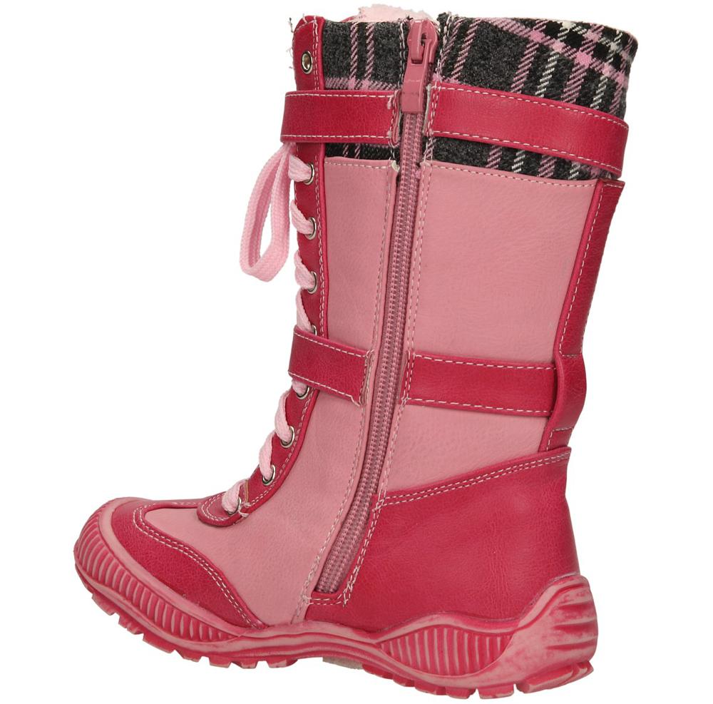 KOZAKI 3XC9539-W kolor fuksja, różowy
