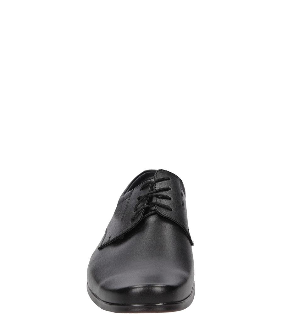 Wizytowe sznurowane Windssor 290 kolor czarny