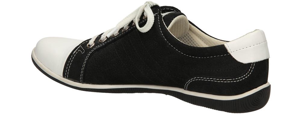 TRAMPKI CASU 324S kolor biały, czarny