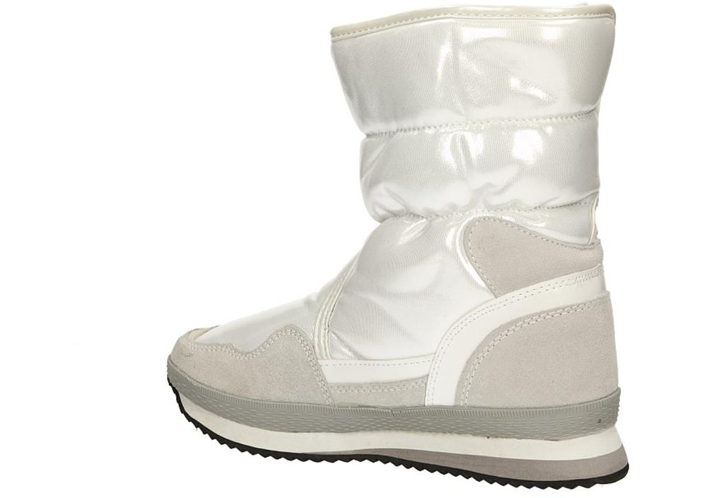 DAMSKIE ŚNIEGOWCE 8811-2 biały;;