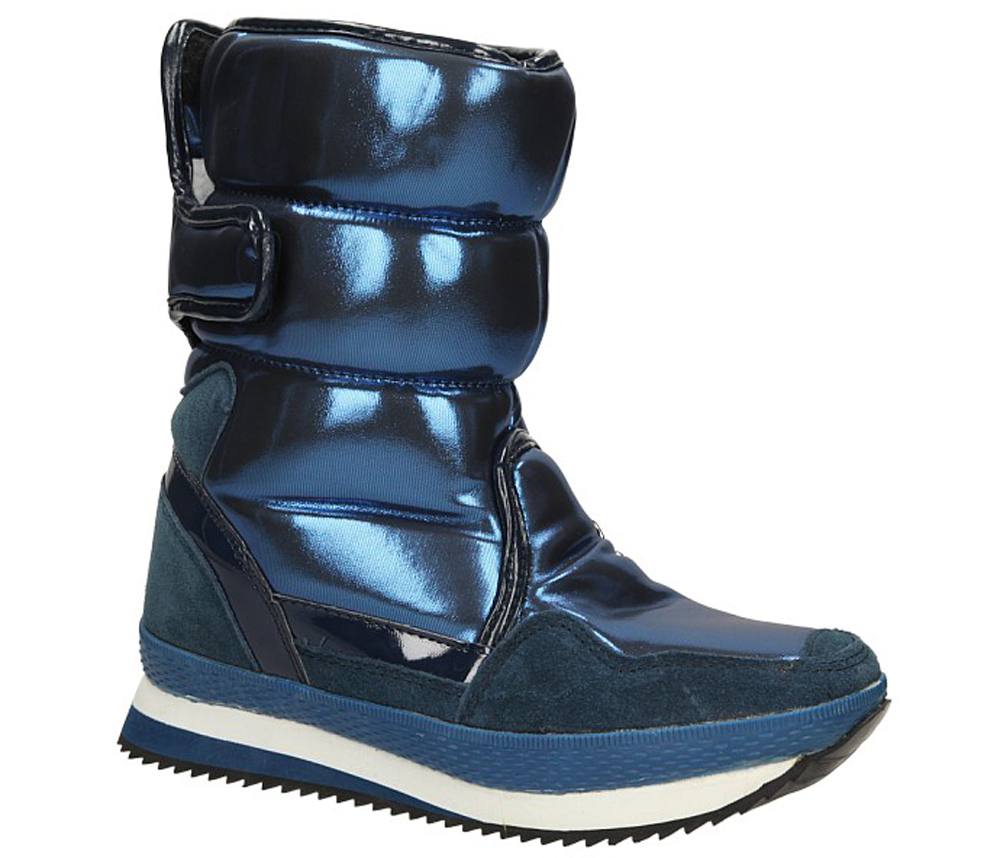 DAMSKIE ŚNIEGOWCE 8811-13 niebieski;;