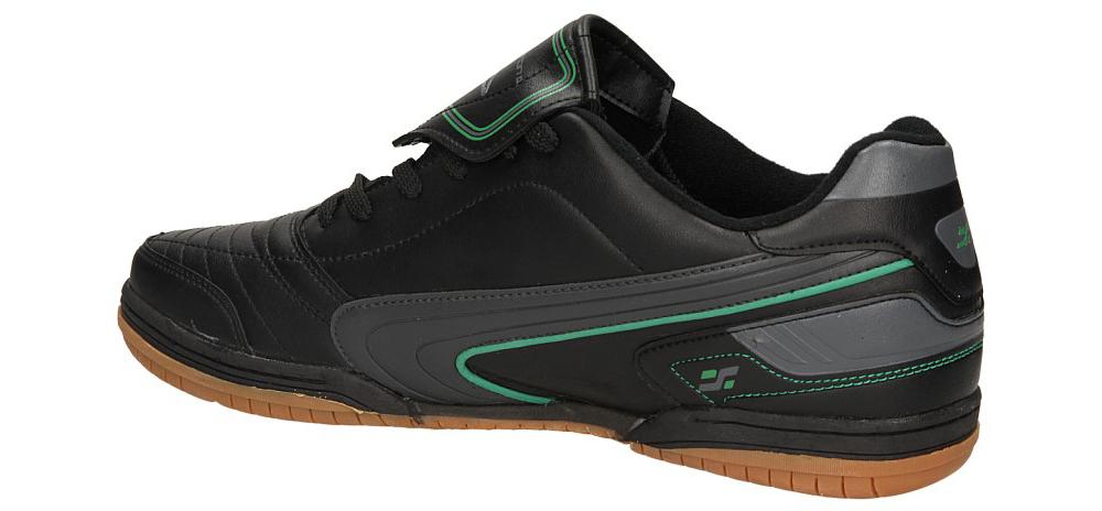 SPORTOWE CASU EXC9921 kolor ciemny zielony, czarny