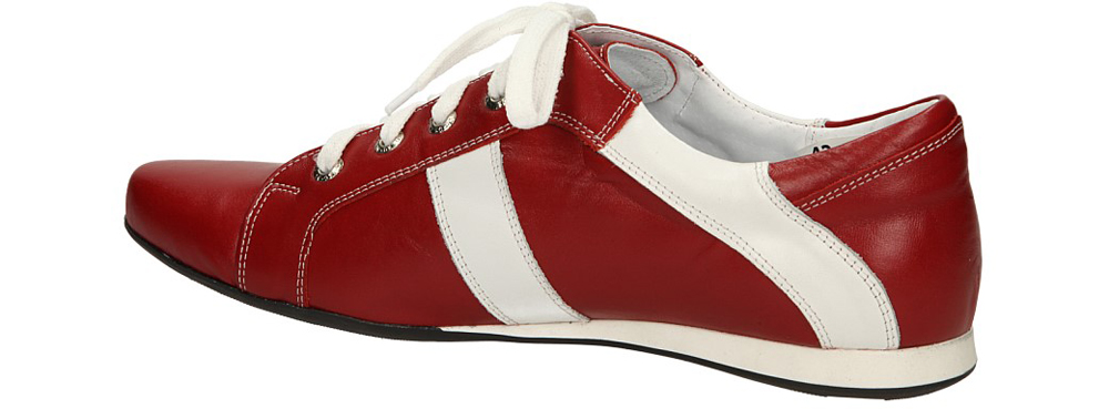PÓŁBUTY CASU SP 8 kolor biały, czerwony