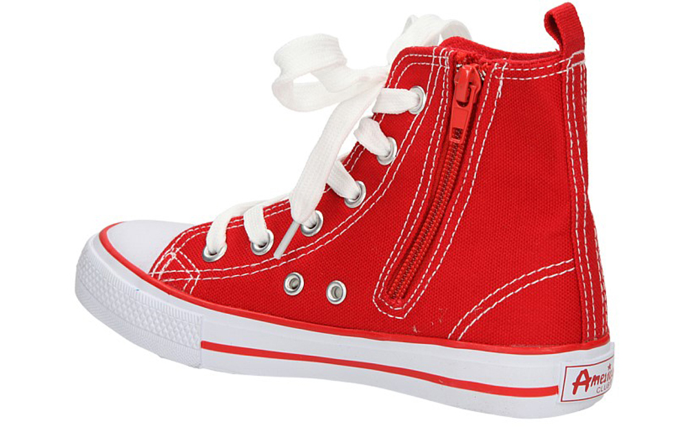 TRAMPKI AMERICAN LH-9120-2 kolor biały, czerwony