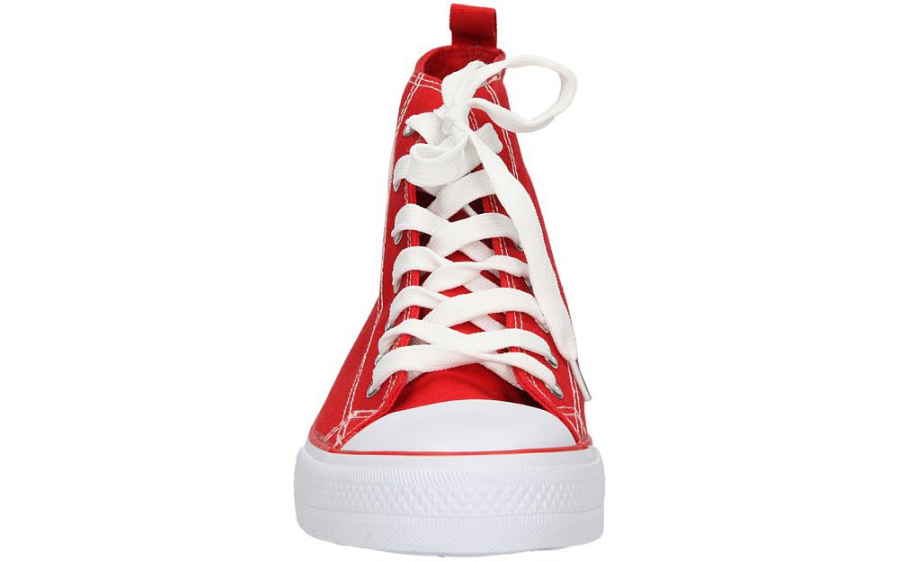 Damskie TRAMPKI AMERICAN LH-9120-6 czerwony;biały;