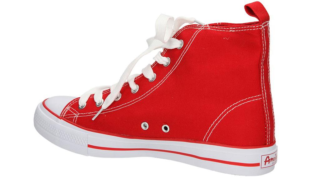 TRAMPKI AMERICAN LH-9120-6 kolor biały, czerwony