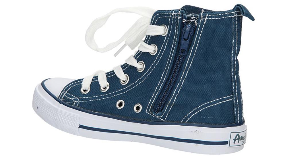 TRAMPKI AMERICAN LH-9120-1/CH kolor biały, ciemny niebieski