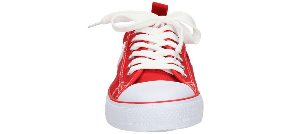 Damskie TRAMPKI AMERICAN LH-DSLN01-6 czerwony;biały;