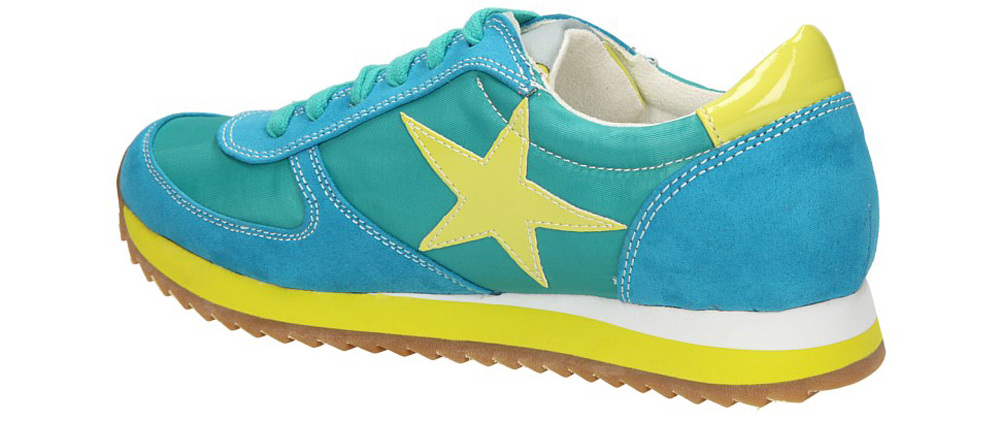 SPORTOWE BLINK 601190-E kolor limonkowy, niebieski, turkusowy