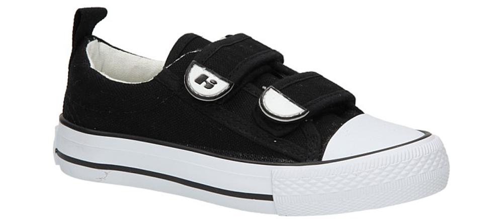 Dziecięce TRAMPKI 801G czarny;biały;