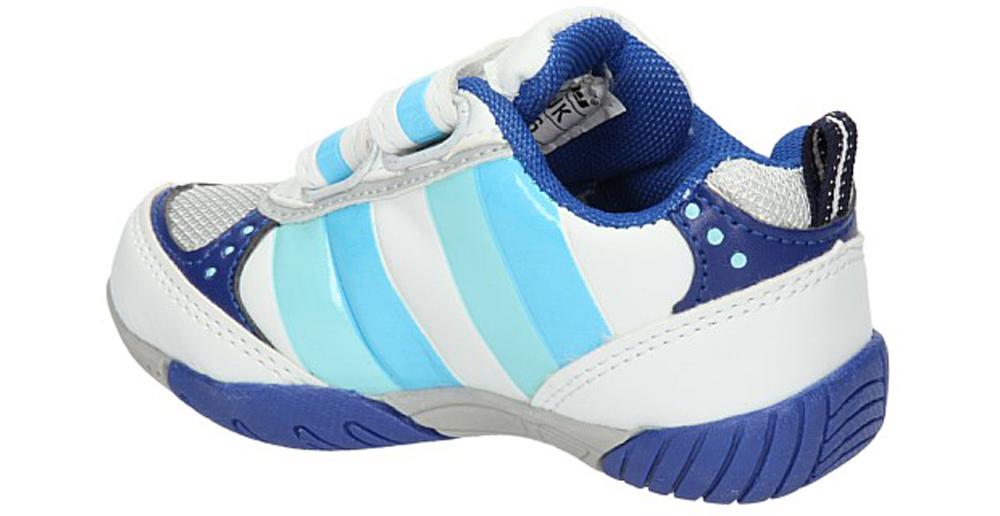 Dziecięce SPORTOWE 1112B biały;niebieski;