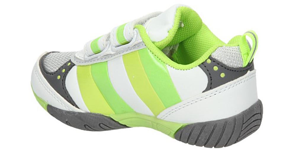 SPORTOWE 1112D kolor biały, zielony