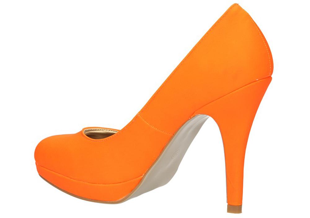 SZPILKI CASU C986 kolor pomarańczowy