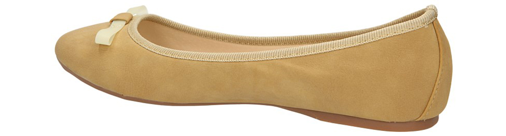 BALERINY CASU W23-2 kolor beżowy