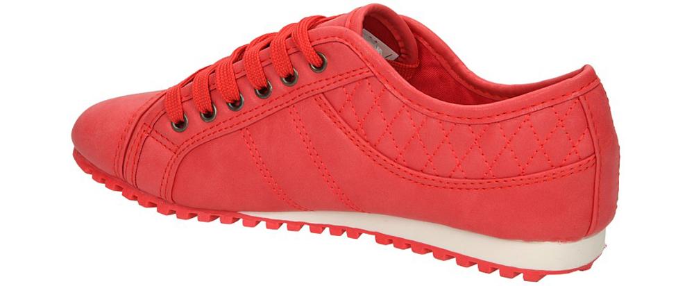 PÓŁBUTY CASU B8389 kolor czerwony