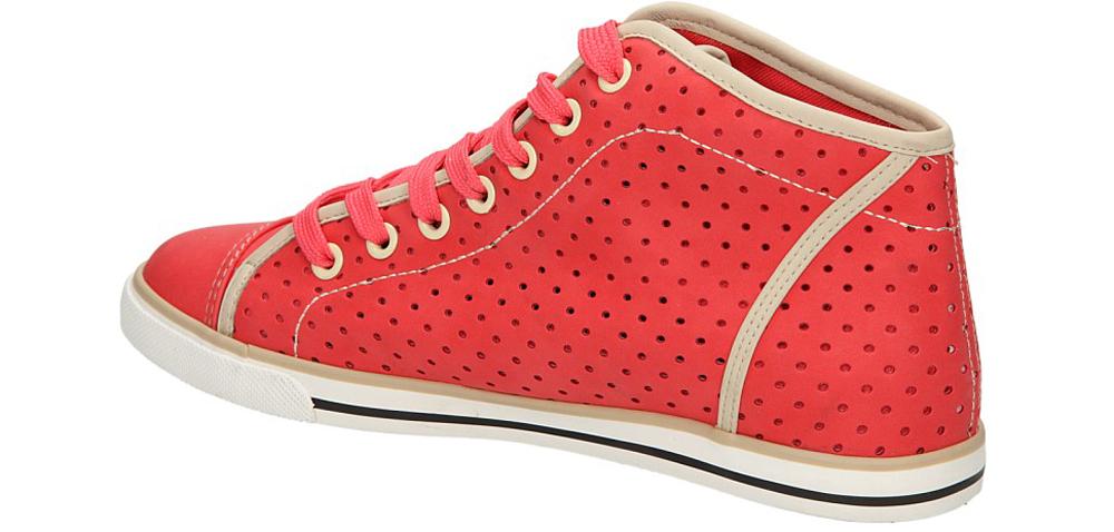 TRAMPKI CASU B8398 kolor beżowy, czerwony