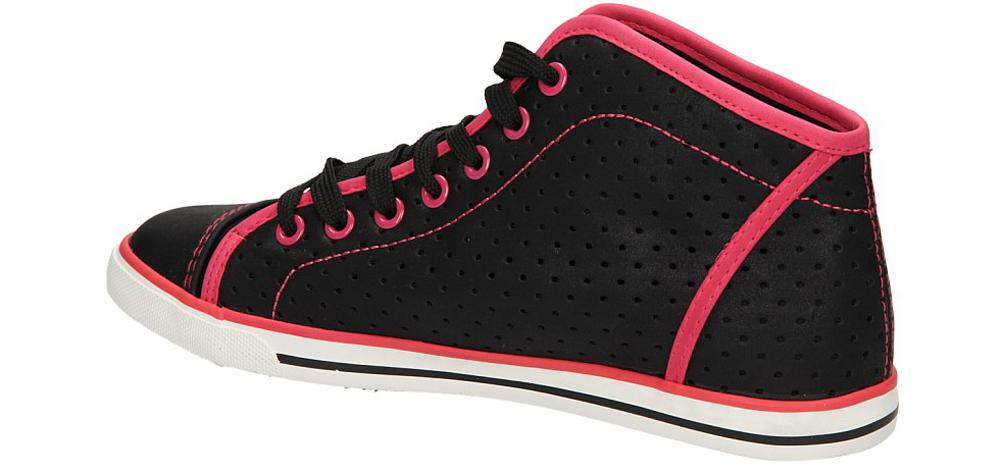 TRAMPKI CASU B8398 kolor czarny, różowy