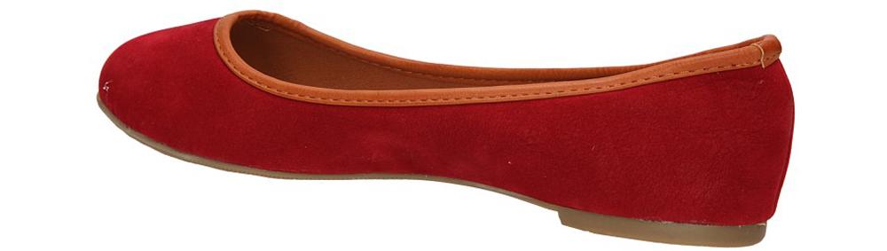BALERINY CASU LX-01 kolor czerwony