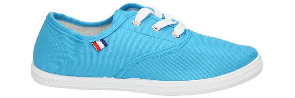 Dziecięce TRAMPKI AMERICAN CA283-05369 niebieski;;