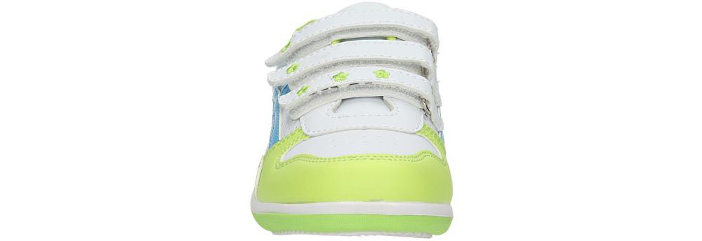 Dziecięce PÓŁBUTY AMERICAN CA95-05316 biały;zielony;