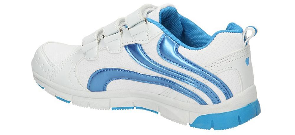 Dziecięce PÓŁBUTY AMERICAN CA51-03158 biały;niebieski;
