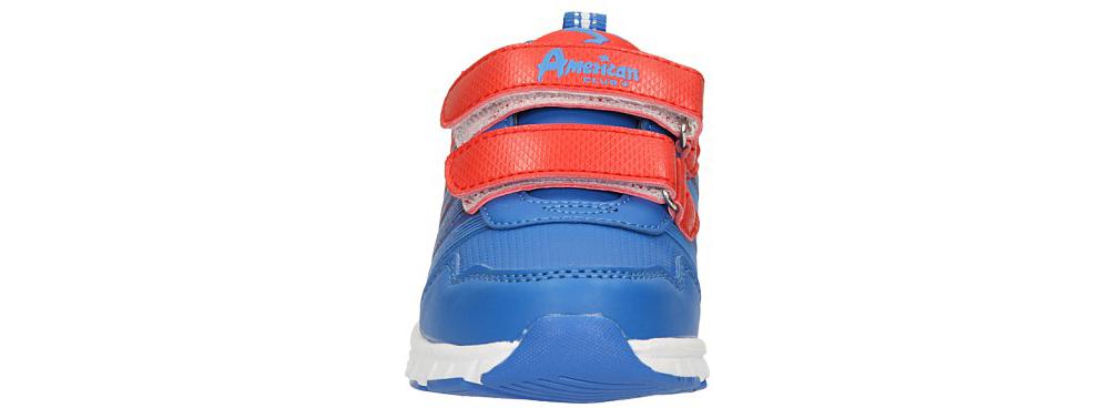 Dziecięce PÓŁBUTY AMERICAN WB-54843 czerwony;niebieski;