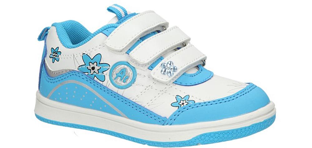 Dziecięce PÓŁBUTY AMERICAN CA134-00972 biały;niebieski;