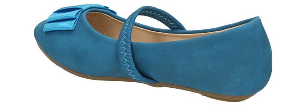 BALERINY XL3103 kolor niebieski
