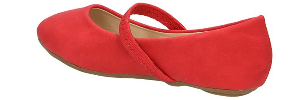 BALERINY XL3108 kolor czerwony