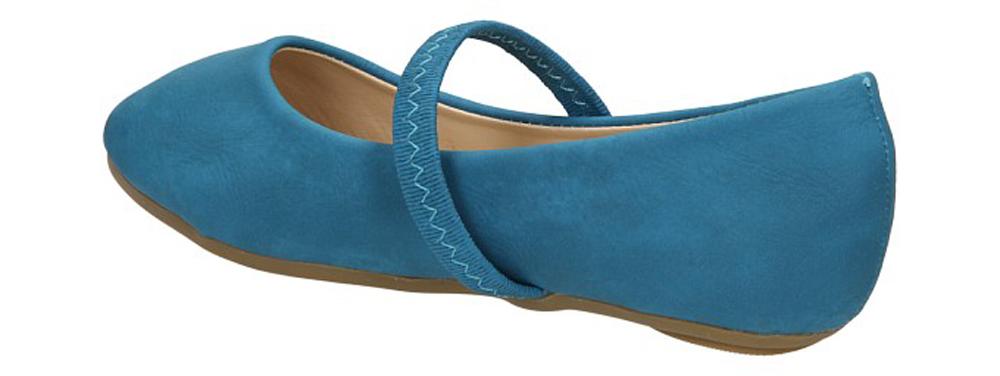 BALERINY FANCO XL3108 kolor niebieski
