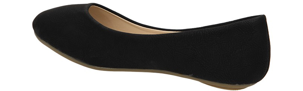 BALERINY XL3108 kolor czarny