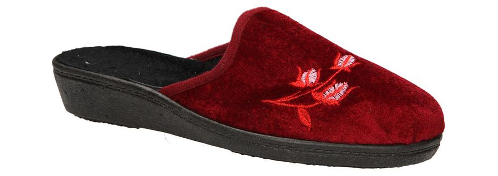 Damskie OBUWIE CASU DOMOWE SL-998 czerwony;;