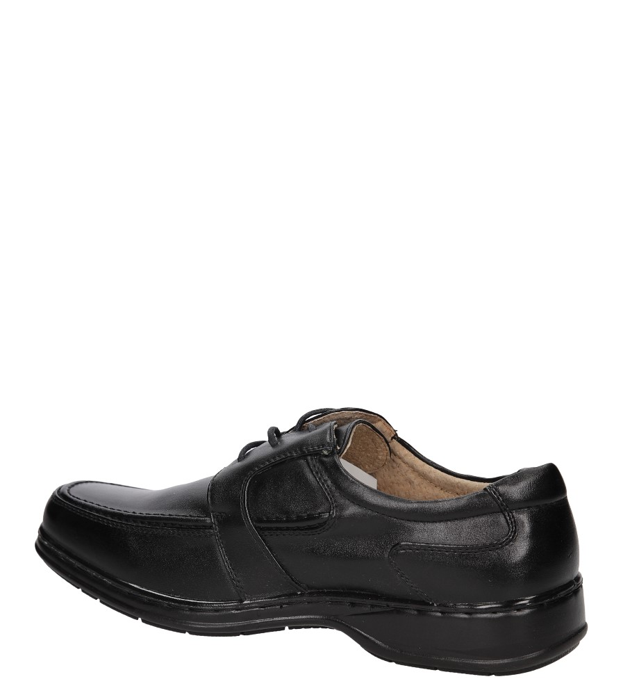 Męskie WIZYTOWE CASU E1812-1 czarny;;