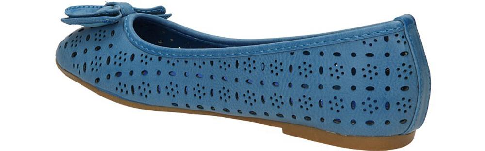 BALERINY 3205-09 kolor niebieski