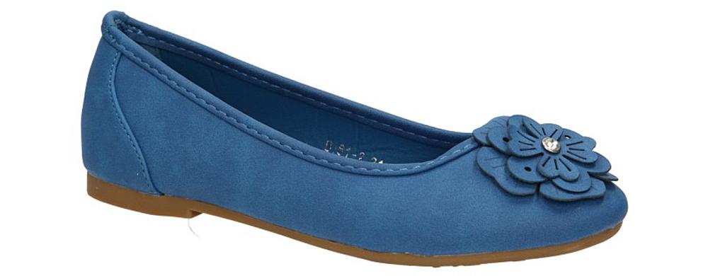 Dziecięce BALERINY B181-2 niebieski;;