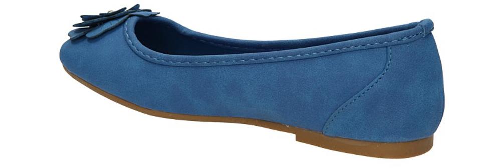 BALERINY B181-2 kolor niebieski