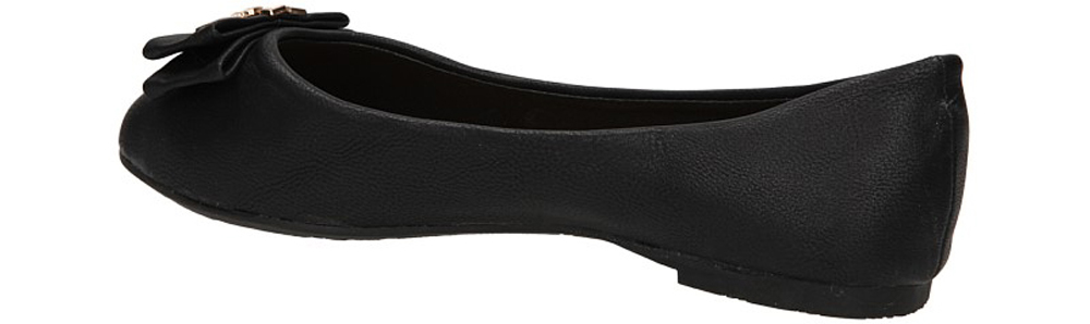 BALERINY A908-3C kolor czarny