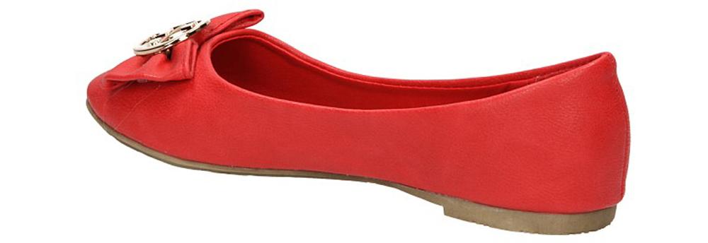 BALERINY YJ-24 kolor czerwony