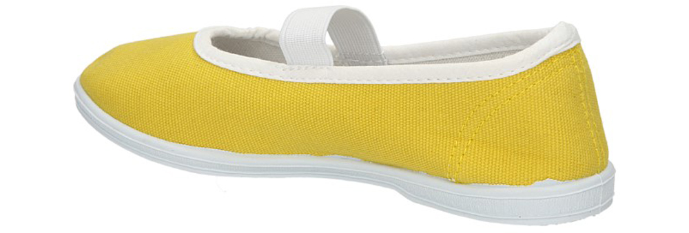 TRAMPKI 5SP093-LS kolor żółty