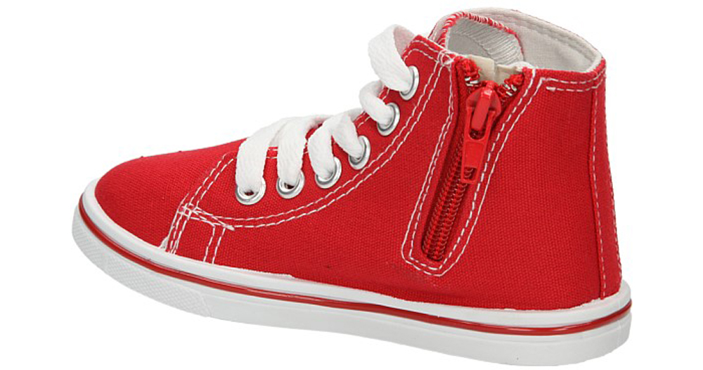 TRAMPKI 5SP-156-RA kolor czerwony