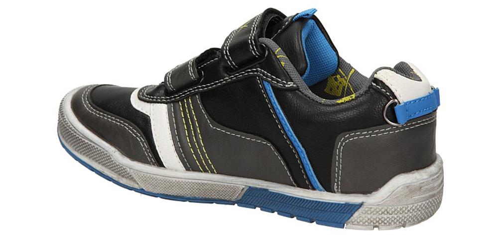 PÓŁBUTY 5XC6287 kolor czarny, niebieski