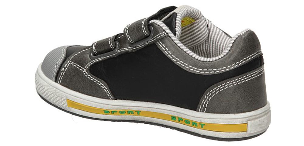 PÓŁBUTY 3XC6274 kolor ciemny szary, czarny, żółty