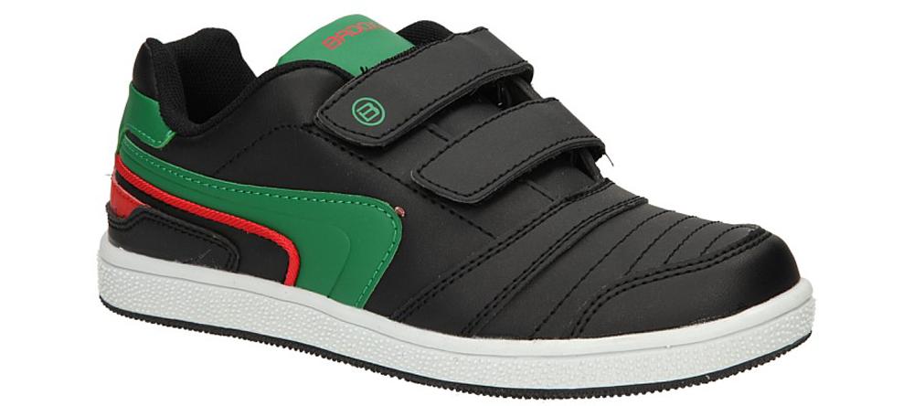 Dziecięce PÓŁBUTY 5XC6200 czarny;zielony;czerwony