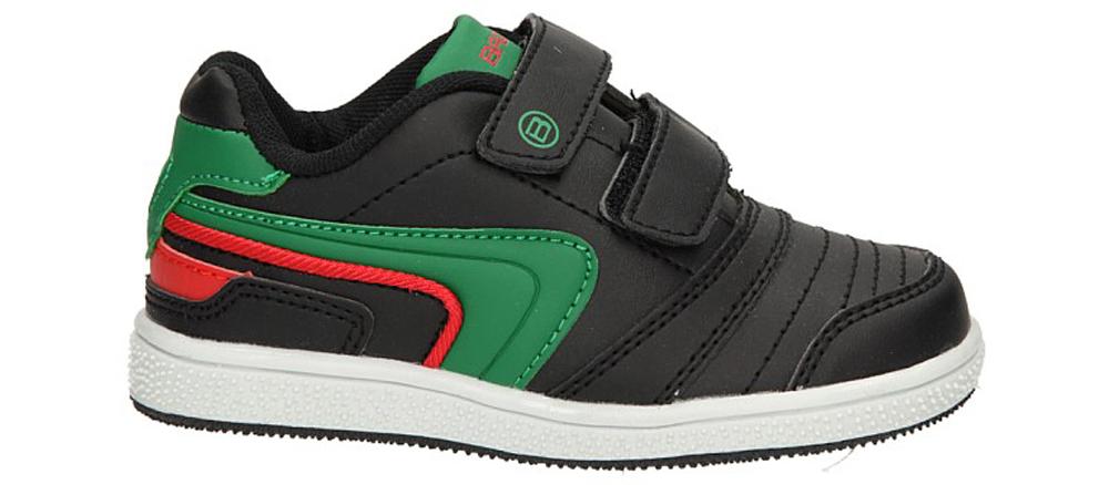 Dziecięce PÓŁBUTY 3XC6200 czarny;zielony;czerwony