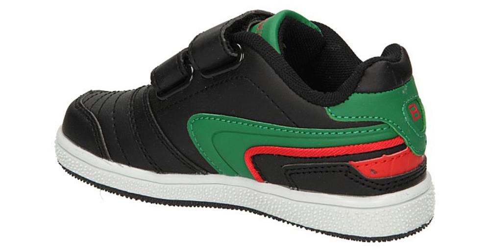 PÓŁBUTY 3XC6200 kolor czarny, czerwony, zielony
