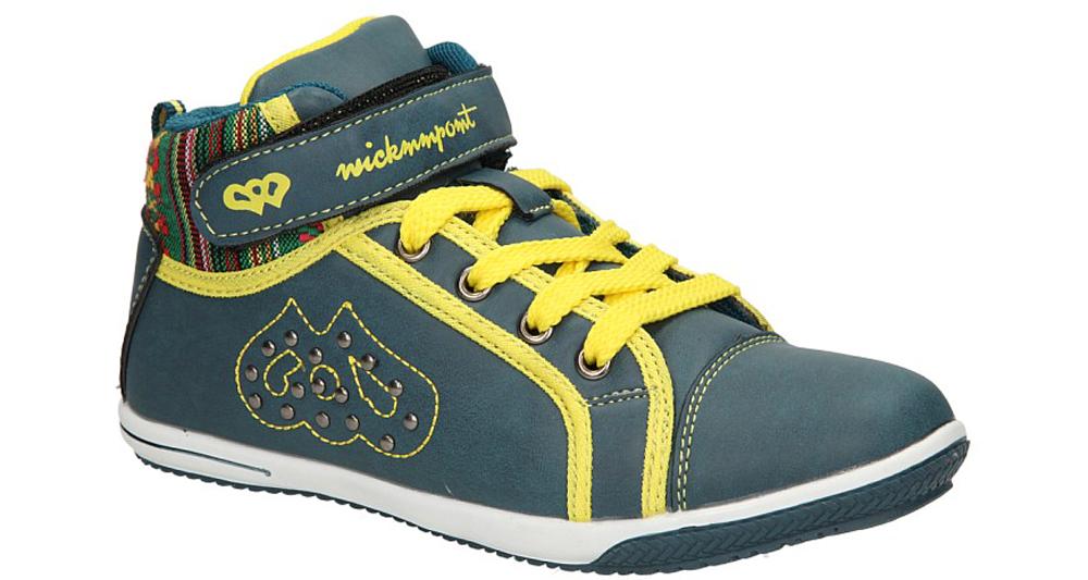 Dziecięce PÓŁBUTY 5XC6320 niebieski;żółty;